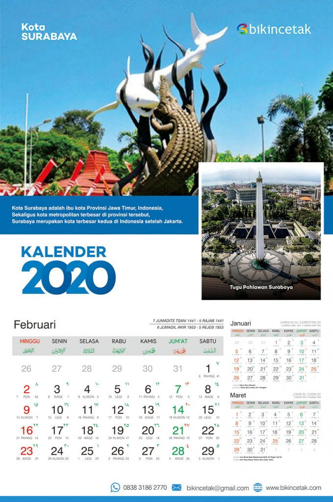 Kalender 2020 Format Corel Draw Download Jawa Hijriyah ...